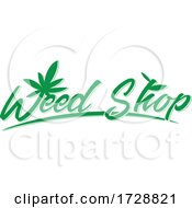 Green Weed Shop Logo