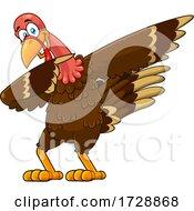 Poster, Art Print Of Turkey Bird Dabbing
