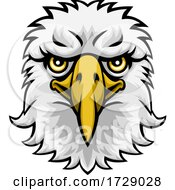 Eagle Mascot Cartoon Character