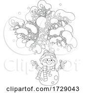 Snowman Christmas Ornament