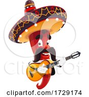 Mexican Chili Pepper by Vector Tradition SM