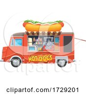 Hot Dog Food Vendor Truck