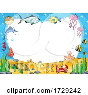 Sea Creatures Border