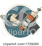 Retro Space Exploration Logo