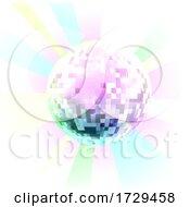 Retro Nightclub Disco Mirror Ball