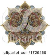 Pattern Motif Mandala Art Ornament Design Element