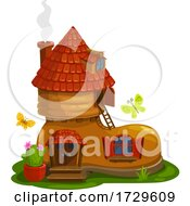 Boot Fairy House by Vector Tradition SM