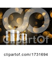 Elegant Christmas Gift Background