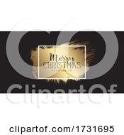 Grunge Style Christmas Banner