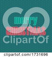 Retro Style Text Christmas Design
