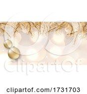 Poster, Art Print Of Elegant Christmas Banner Design