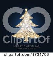 Poster, Art Print Of Sparkle Christmas Tree Design