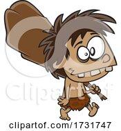 Cartoon Boy Caveman