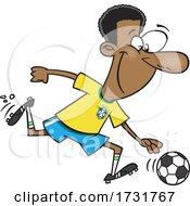 Cartoon Soccer Legend