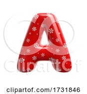 Snowflake Letter A Capital 3d Christmas Suitable For Christmas Santa Claus Or Winter Related Subjects