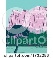 Capitol Reef National Park In Torrey Utah United States WPA
