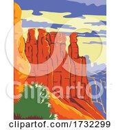 Bryce Canyon National Park In Paunsaugunt Plateau Garfield County And Kane County Utah WPA