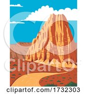 Cathedral Valley Loop In Capitol Reef National Park South Central Utah United States WPA