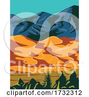 Great Sand Dunes National Park POSTER WPA