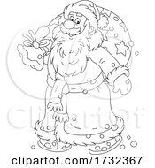 Santa Carrying A Sack