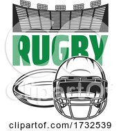 Rugby Sports Design by Vector Tradition SM