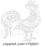 Chinese Zodiac Rooster by Vector Tradition SM