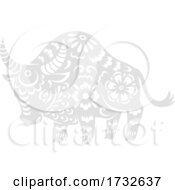 Chinese Zodiac Ox by Vector Tradition SM