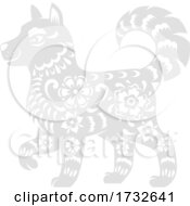 Chinese Zodiac Dog by Vector Tradition SM