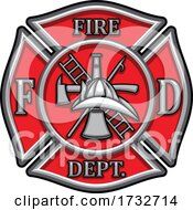 Fire Department Badge by Vector Tradition SM