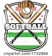 Softball Baseball Design by Vector Tradition SM