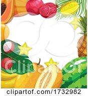 Tropical Fruit Border
