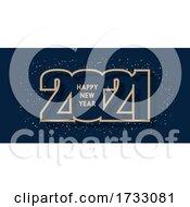 Happy New Year Banner Design
