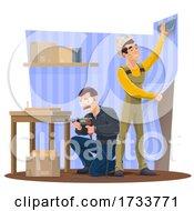 Poster, Art Print Of Contractors