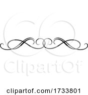 Black And White Rule Border