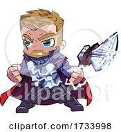Manga Styled Thor by mayawizard101 #COLLC1733998-0158