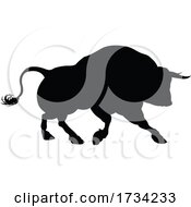 01/01/2021 - Silhouette Bull