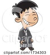 Clipart Cartoon Japanese Boy