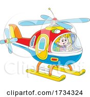 01/03/2021 - Little Boy Piloting A Helicopter