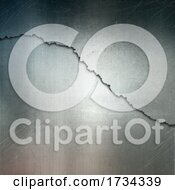 Grunge Cracked Metal Background
