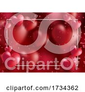 Decorative Valentines Day Background