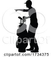 01/07/2021 - Golfer Golf Sports Person Silhouette
