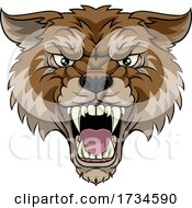 01/10/2021 - Wolf Or Werewolf Monster Scary Dog Angry Mascot