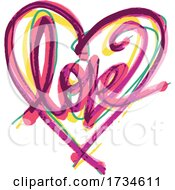 Poster, Art Print Of Valentine Love Heart