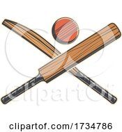 Cricket Sports Design by Vector Tradition SM