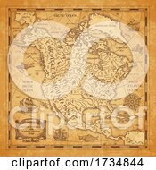 Ancient North America And United States Map