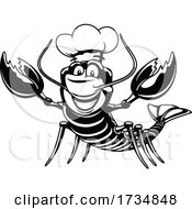 Black And White Chef Lobster