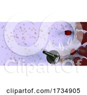 Poster, Art Print Of Valentines Heart Background