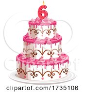 Birthday Cake by Vector Tradition SM