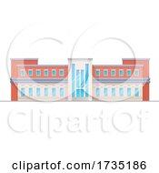 School Building by Vector Tradition SM
