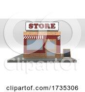 3D Cartoon Store